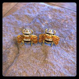 Kate Spade Bee Stud Earrings HTF!